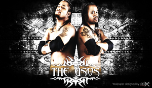 The Usos WWE Wallpaper by TheElectrifyingOneHD