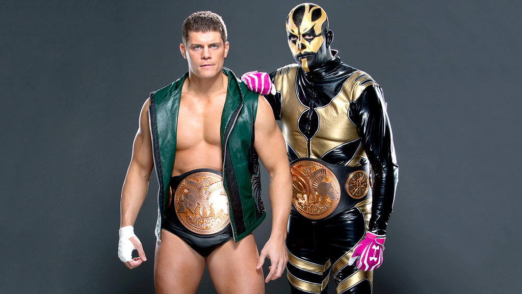 Cody Rhodes and Goldust by TheElectrifyingOneHD on DeviantArt
