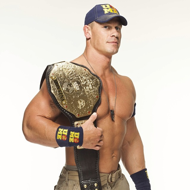 John Cena World Heavyweight Champion Studio By TheElectrifyingOneHD