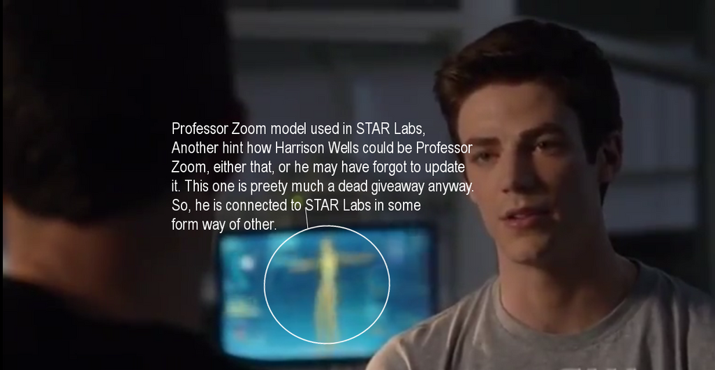 Professor Zoom Model in STAR Labs by TheElectrifyingOneHD
