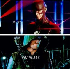 The Flash and Arrow by TheElectrifyingOneHD