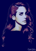 Lana Del Rey by DesiraeSalazar