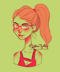 Felicity Smoak by DesiraeSalazar
