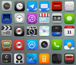 iPhone HD icons