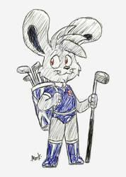 Golfer Mat by Machu