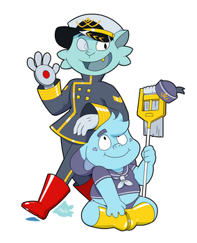 Admiral and Bootsman