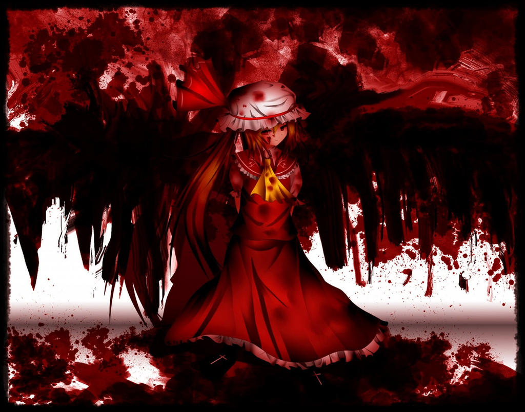 The Crimson Devil Flandre by Tearelle on DeviantArt