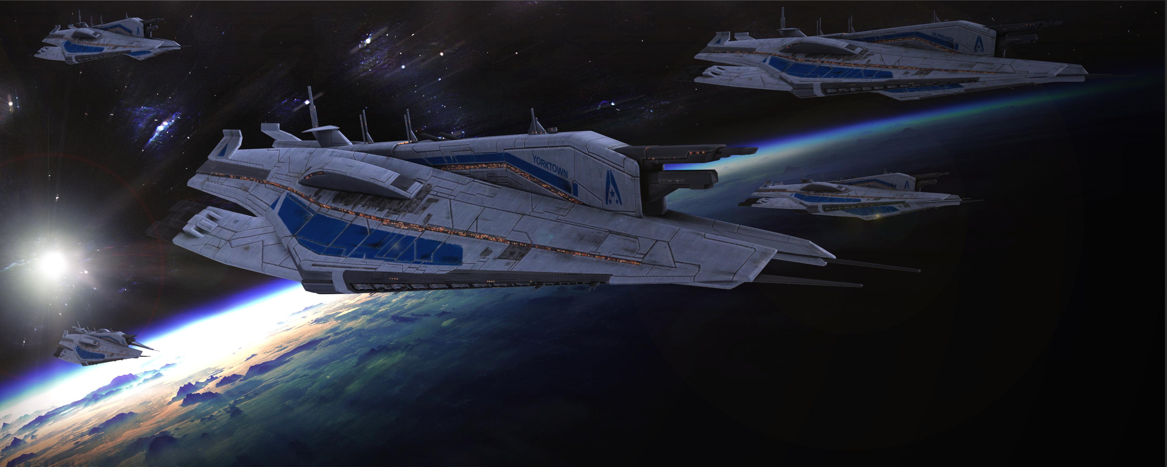 Alliance Fleet by TheKillerCobra