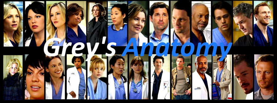 Grey's Anatomy Then and Now by BookWizard on DeviantArt