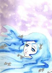 Water Girl by OrShouldI