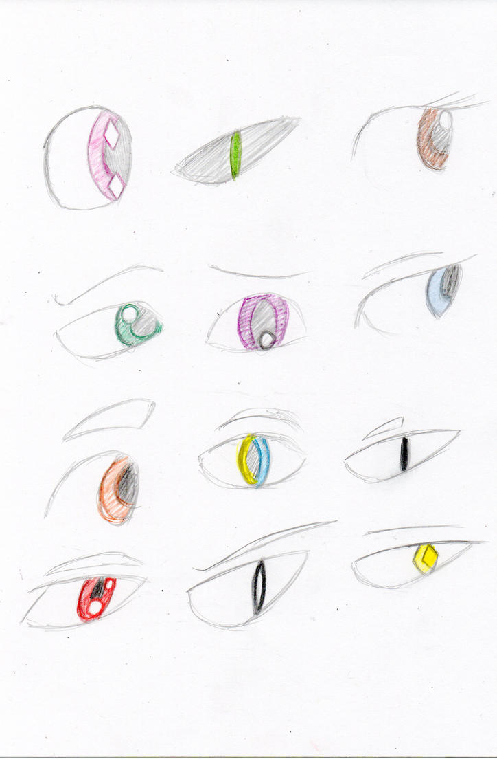 Sloppy gem eye chart! by JSPatronus