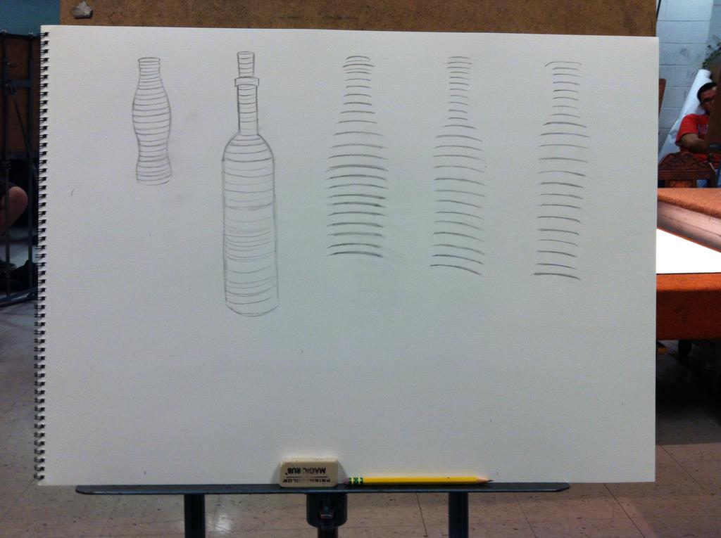 Bottle Cross Conturing by JSPatronus