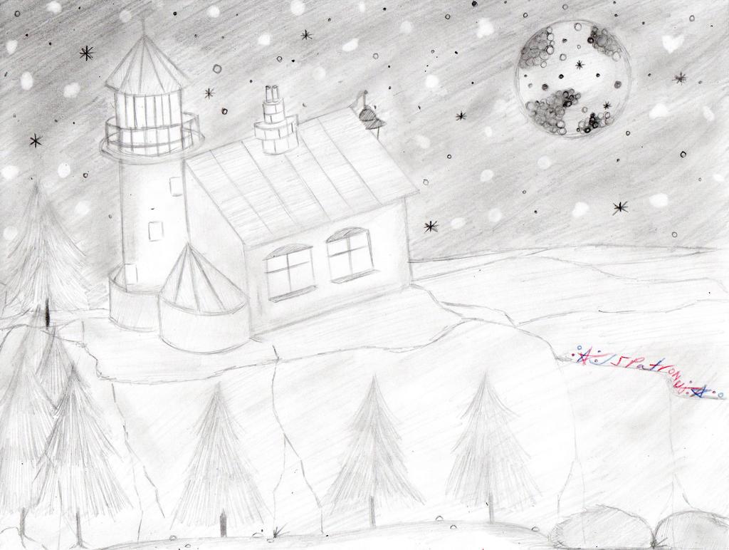 -Night Light(house)- by JSPatronus
