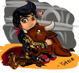 The Book of Life: Toro Hug by toteczious