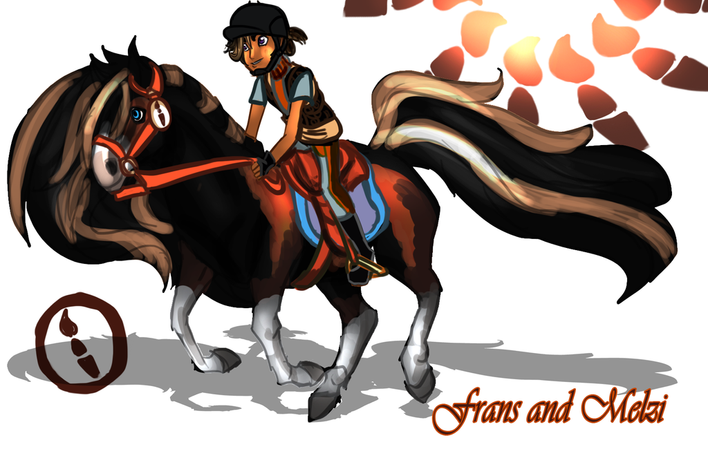 Horseland OC: Frans and Melzi by toteczious on DeviantArt