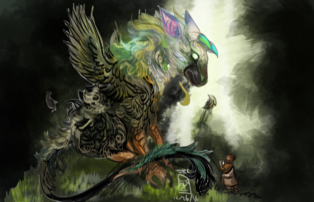 The Last Guardian: Trico by toteczious