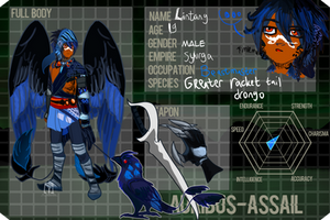 AA:: Lin the Drongo UPDATED by toteczious