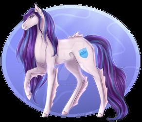 Sapphire Shield Sea Horse by Lou1911