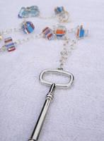 Modern Key Necklace by kjtgp1