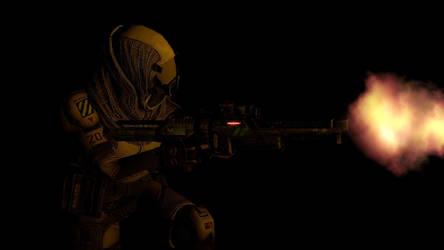 Rena'Cesa: Quarian Sniper by Joester264