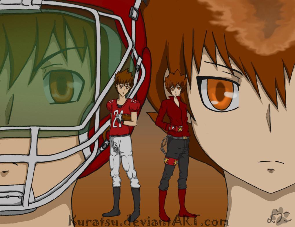 The chibi power duo by Kuratsu