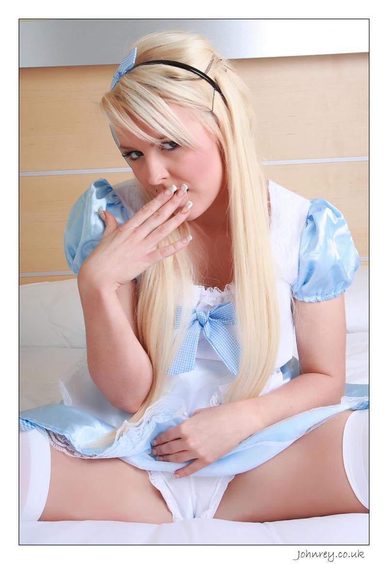 Excellent Alice in wonderland panties confirm