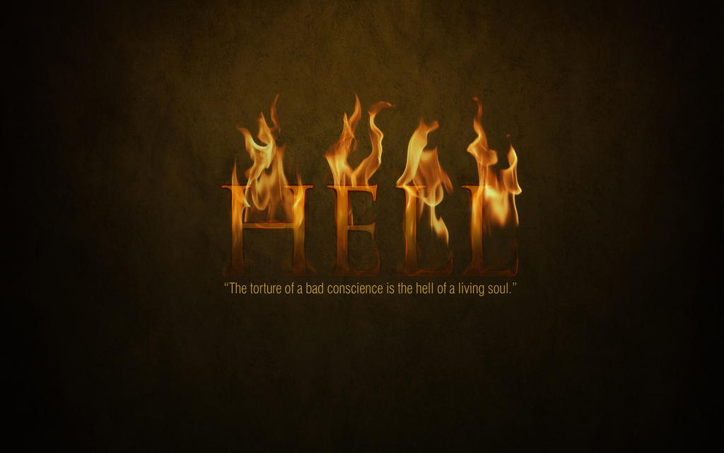 Hell Wallpaper by SynergyDigital