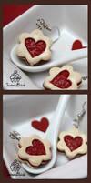 Valentine's Day Jam Cookies Earrings
