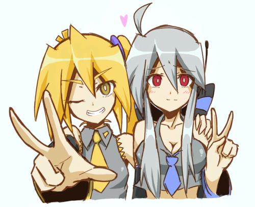 Vocaloid Neru And Haku Neru and Haku by Lalis...