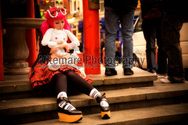 Punk Lolita in China Town III by Nitemare-Photography
