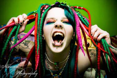 I Puke Rainbows by Nitemare-Photography