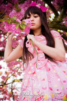 Cherry Blossom Princess by Nitemare-Photography