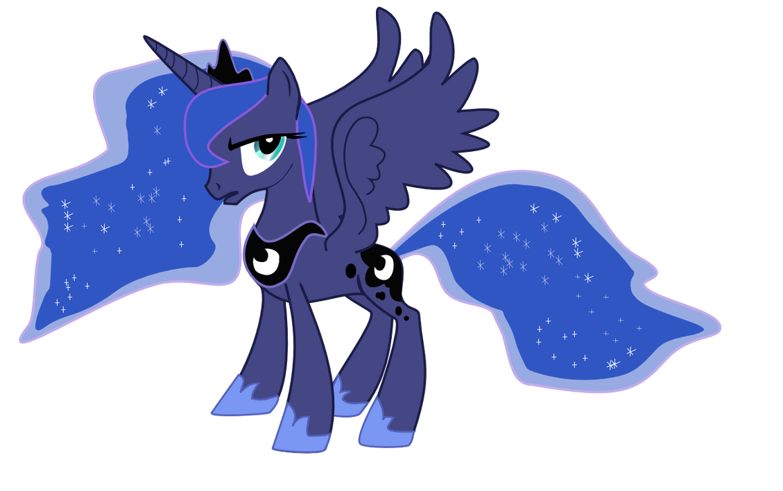 Princess Luna by nero-narmeril