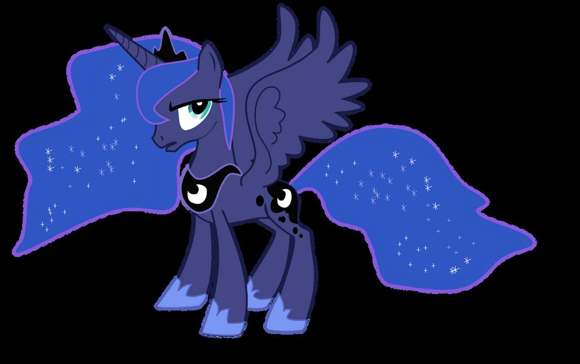 Princess Luna by nero-narmeril