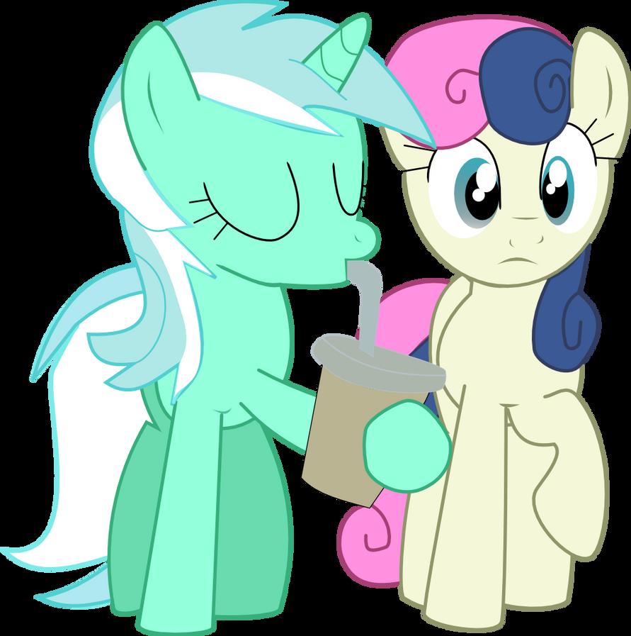 Lyra and BonBon by nero-narmeril