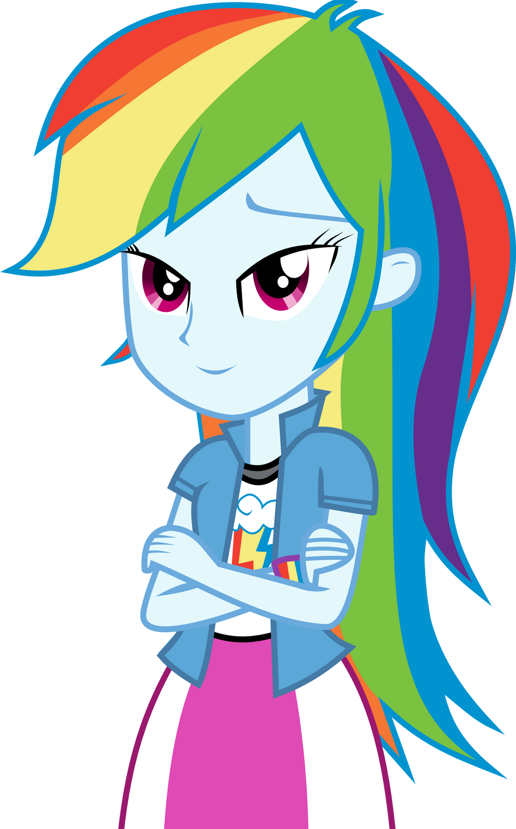 Equestria Girls Rainbow Dash By Nero Narmeril