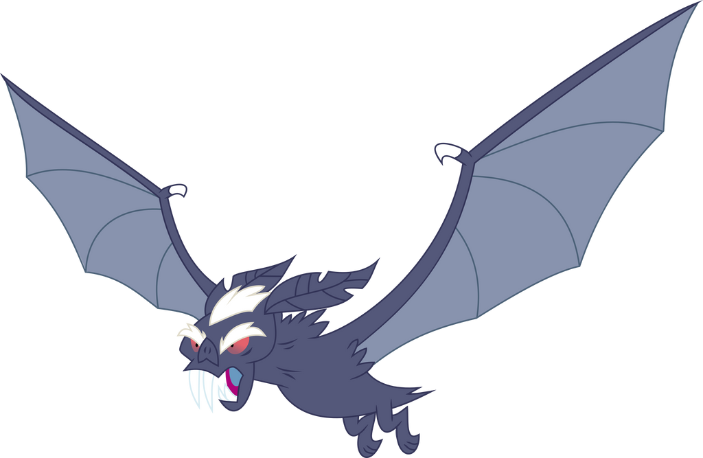 Vampire Fruit Bat by nero-narmeril