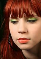 Leaf Makeup II by Lethiel
