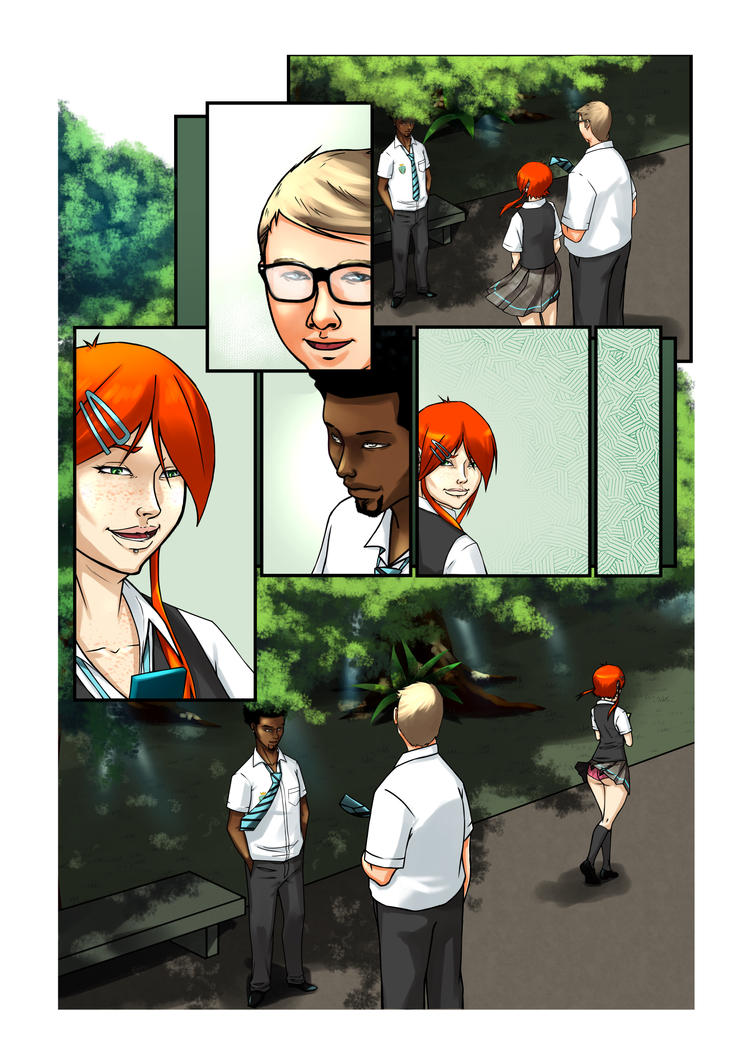 Midnight Society Chapter 1 Page by danimedr