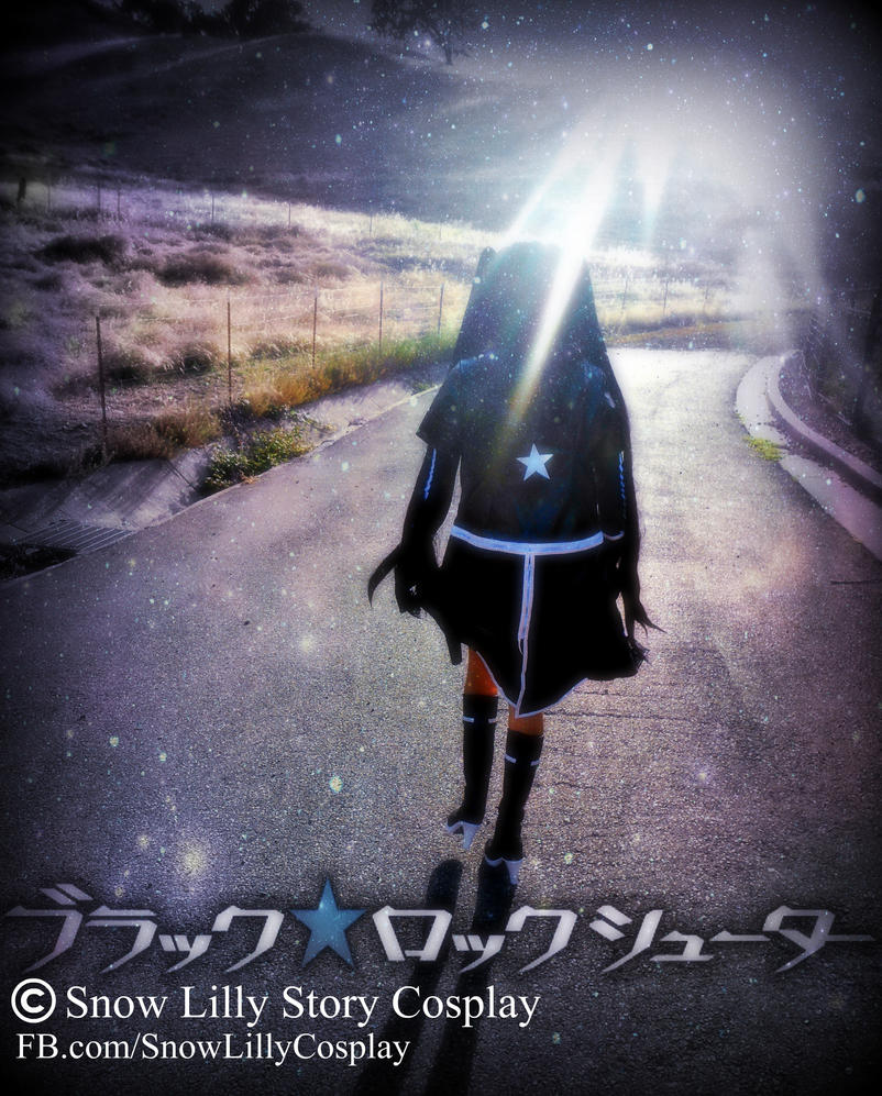 Black Rock Shooter Title by SnowLillyYukino