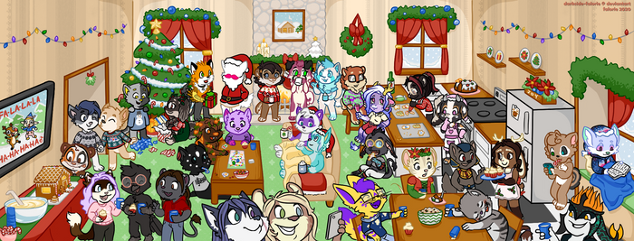 2020 FV xmas party ych finished