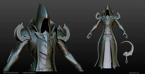 Malthael - Diablo III Fan Art Contest Sculpt