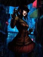 It's Rainning by locoarts92
