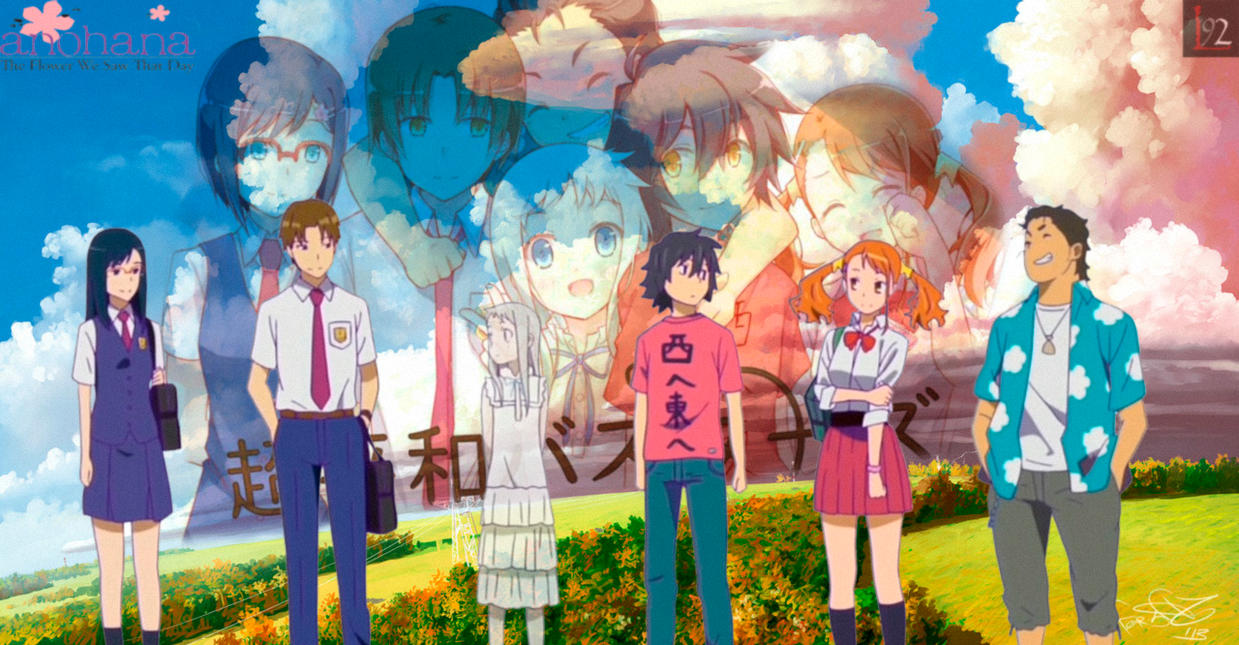 Download Anime Anohana The Movie By Locoarts92 On Deviantart