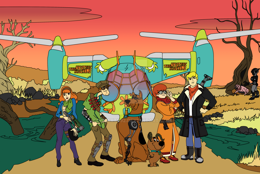 Scooby Doo/Fallout Crossover WIP 4 by locoarts92