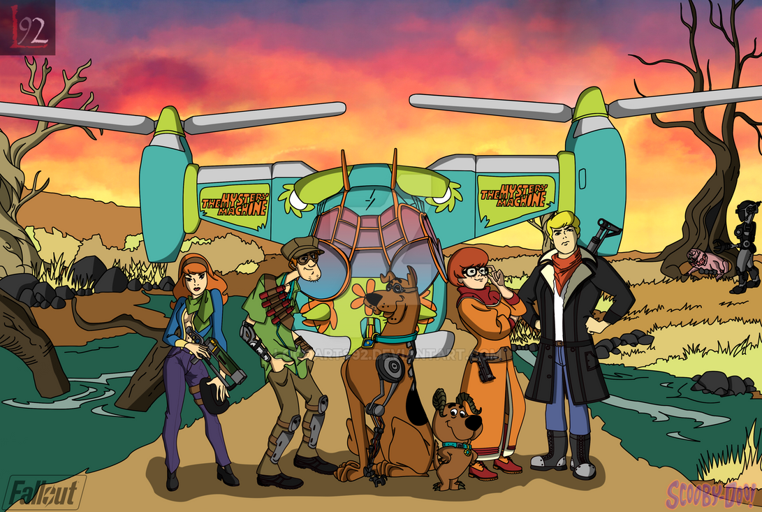 Sooby-Doo Fallout Crossover by locoarts92