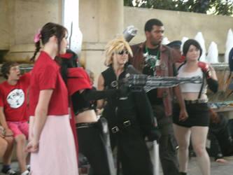 Otakon 2011-Final Fantasy 7 by Bluebell-Ren