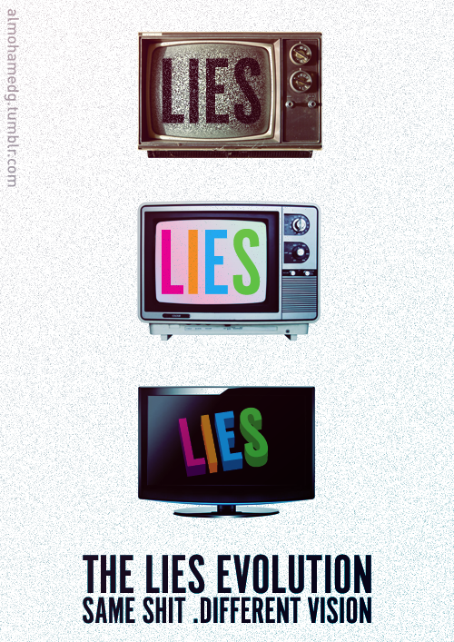 The Lies Evolution by DesHamodeh