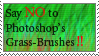 Say no to grass brushes by Fumiika
