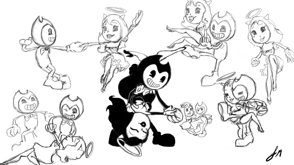 bendy x alice favourites by fazbear14 on deviantart